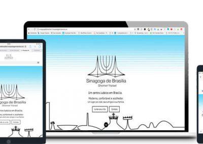 Site Sinagoga de Brasília