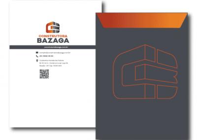 envelope construtora bazaga