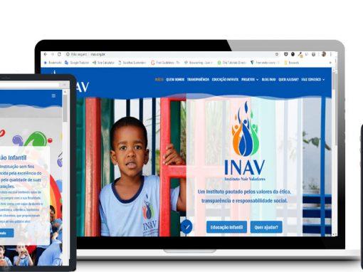 Redesign do Site INAV